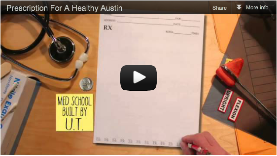 A Prescription for a Healthy Austin