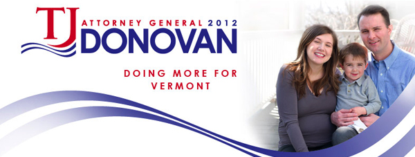 TJ Donovan for Attorney General of Vermont