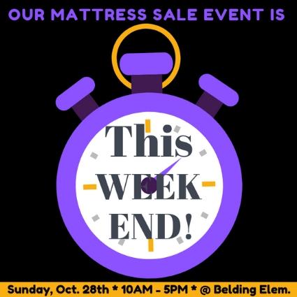 Belding Mattress Sale - Oct 28