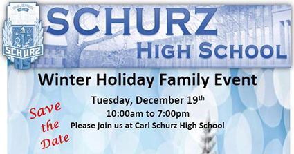 Schurz Holiday Event