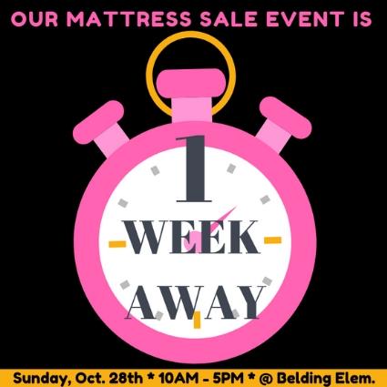 Belding Mattress Sale - 1 Wk