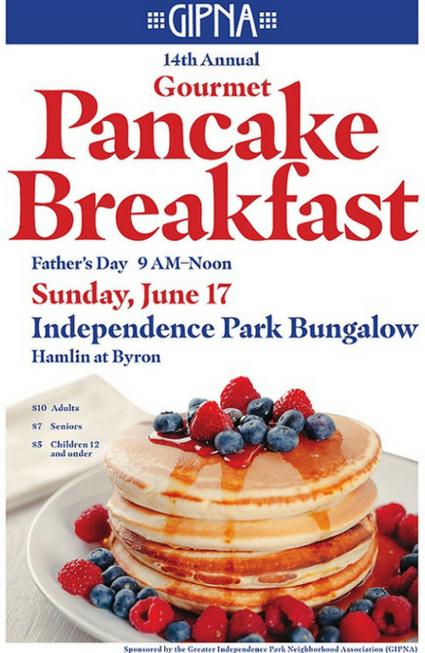 Gourmet Pancake Breakfast