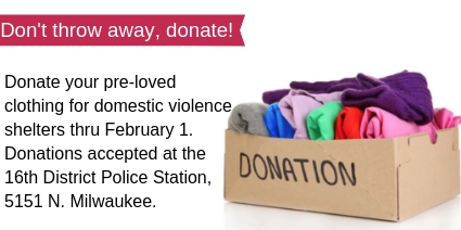 16th District Donation Drive
