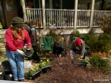 Keeler Gardens Volunteers