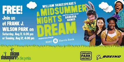 2018 Shakespeare in the Parks