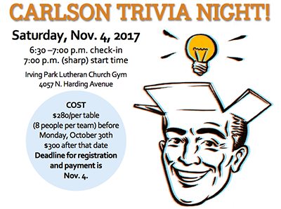 Carlsons Trivia Night 2