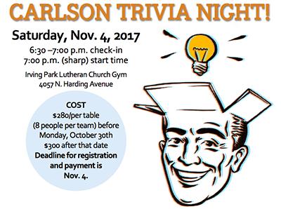 Carlsons Trivia Night 2