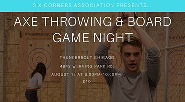 Axe Throwing & Board Games