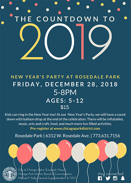 Rosedale Park New Years Party