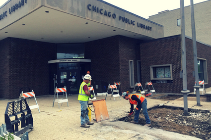 Jefferson Park Branch work