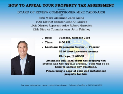 2018 Property Tax Appeal