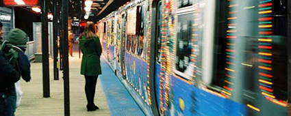 CTA Holiday Train