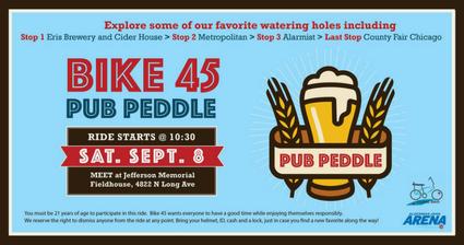Bike 45 Pub Peddle