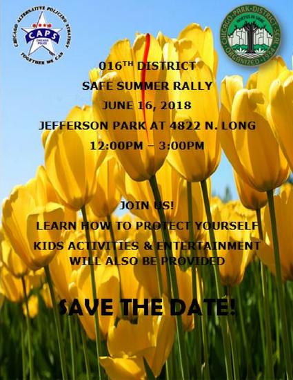 Safe Summer Rally