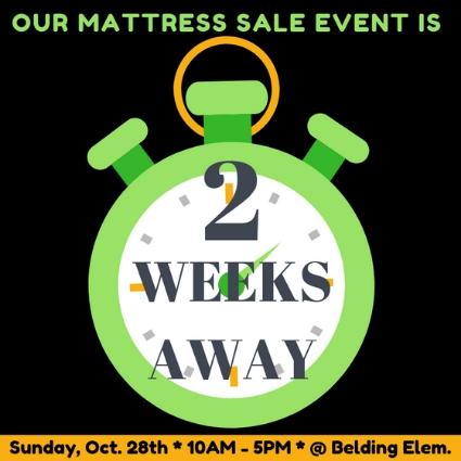 Belding mattress Sale - 2 Wks