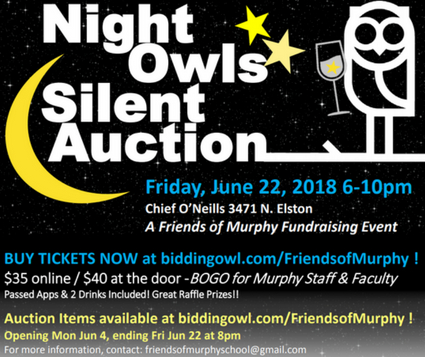 Night Owls Silent Auction