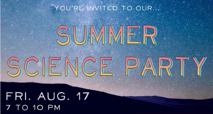 Summer Science Party
