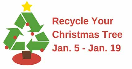2019 Christmas Tree Recycling
