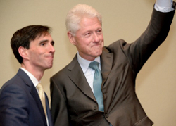 Noam with President Clinton